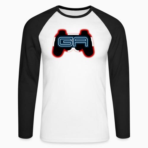 Langærmet Herre T-shirt med logo - Langærmet herre-baseballshirt