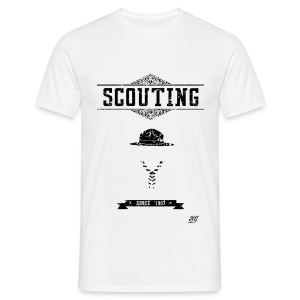 Tee shirt homme scout vintage - T-shirt Homme
