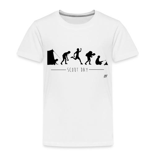 Tee shirt enfant scout day -noir- - T-shirt Premium Enfant