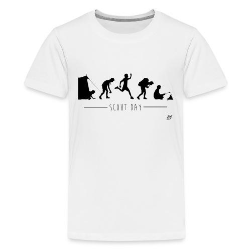 Tee shirt ado scout day -noir- - T-shirt Premium Ado