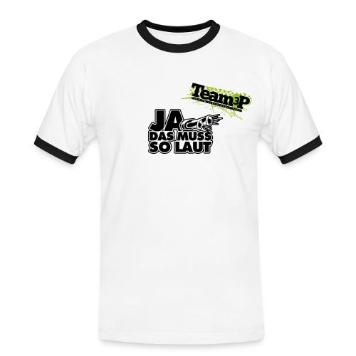 Kontrast T-Shirt Team3P - Männer Kontrast-T-Shirt