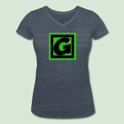 Original G-Team Ladies T-shirt - Women's Organic V-Neck T-Shirt by Stanley & Stella