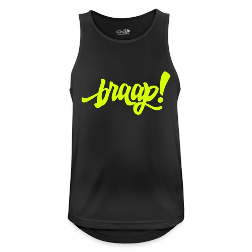Tank Top (neon yellow) - Männer Tank Top atmungsaktiv
