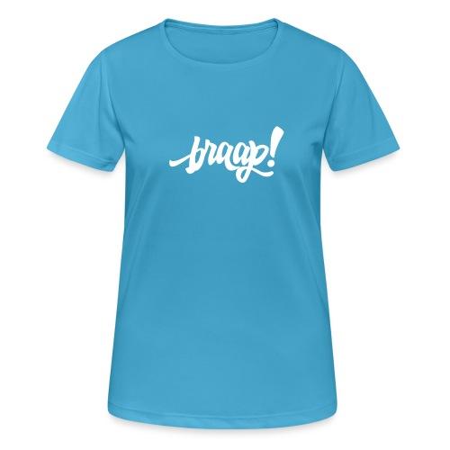 Functionshirt (white) - Frauen T-Shirt atmungsaktiv