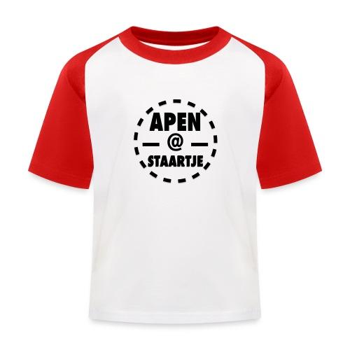 Apenstaartje Shirt Kids korte mouwen - Kinderen baseball T-shirt
