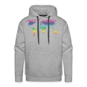World Stripe CL - Mannen Premium hoodie