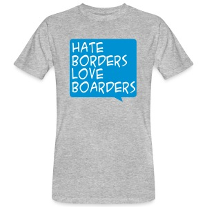 Hate and Love - Männer Bio-T-Shirt