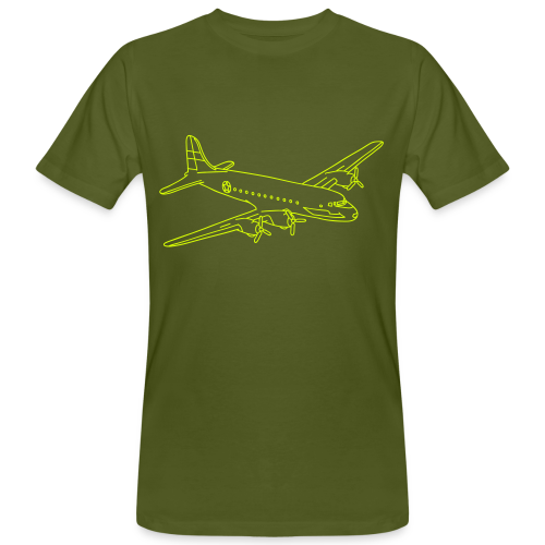 Flugzeug - Männer Bio-T-Shirt