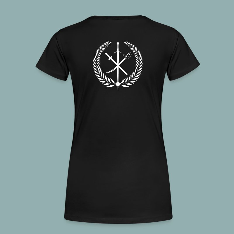 Damen-T-Shirt SNF mit Logo - Frauen Premium T-Shirt