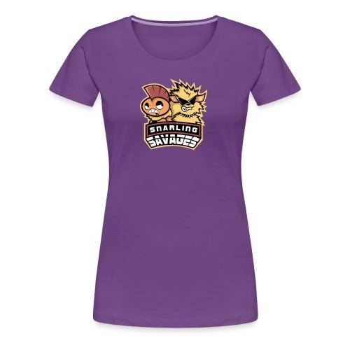Snarling Savages Womens Shirt - Women's Premium T-Shirt