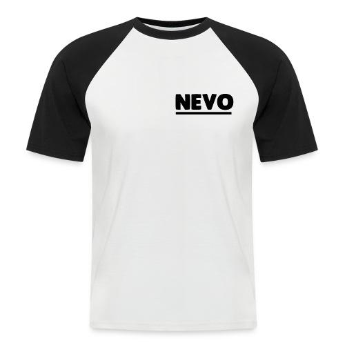 Small Text Nevo Baseball Tee - Men's Baseball T-Shirt