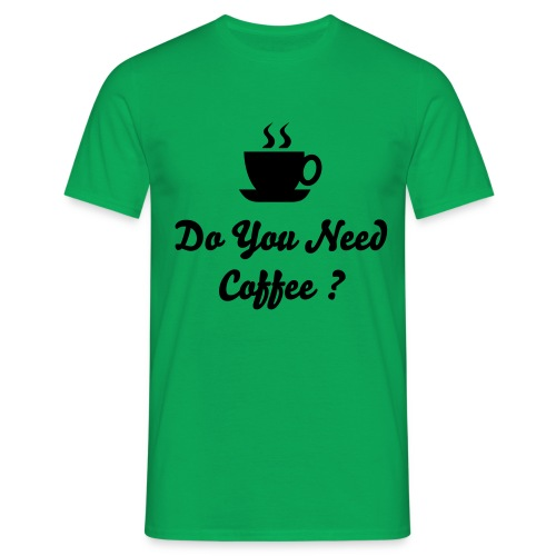 Coffee? - Men's T-Shirt