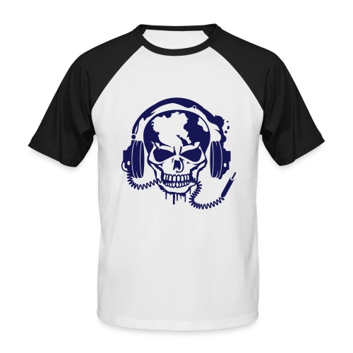 Skull&Music - Men's Baseball T-Shirt