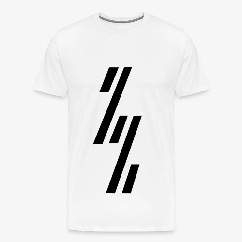 ZependeZ Shirt Wit - Mannen Premium T-shirt