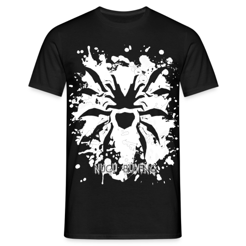 Cissaronid | Graffiti-Edition - Nugu Buyeng [Black] - Männer T-Shirt