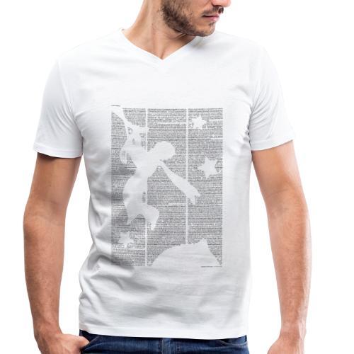 «Der kleine Prinz» T‑Shirt (Jungs) - Männer Bio-T-Shirt mit V-Ausschnitt von Stanley & Stella