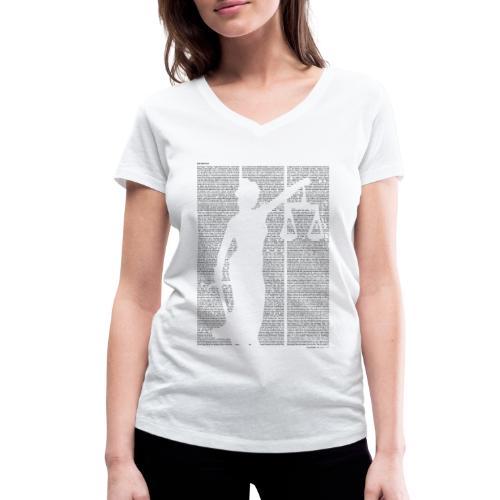 «Der Process» T‑Shirt (Mädels) - Frauen Bio-T-Shirt mit V-Ausschnitt von Stanley & Stella