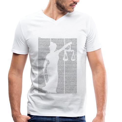 «Der Process» T‑Shirt (Jungs) - Männer Bio-T-Shirt mit V-Ausschnitt von Stanley & Stella