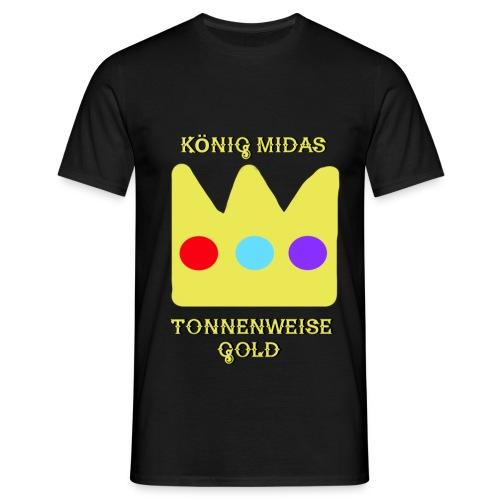 König Midas Shirt - Männer T-Shirt