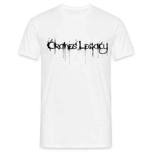 T-Shirt Cranes Legacy weiss - Männer T-Shirt