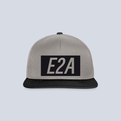 E2A SNAPBACK GREY/BLACK - Snapback Cap