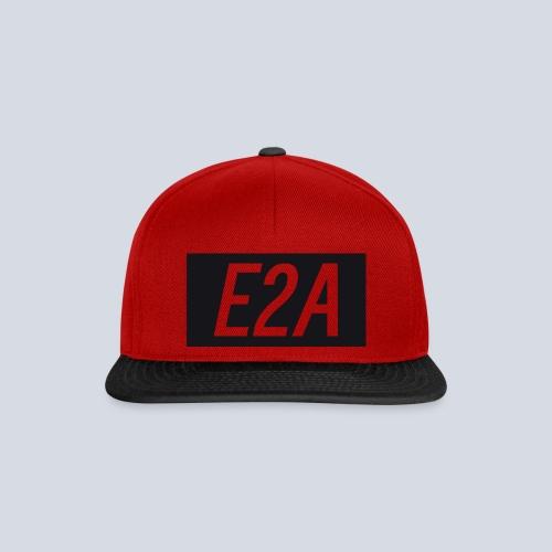 E2A SNAPBACK BLACK/RED - Snapback Cap
