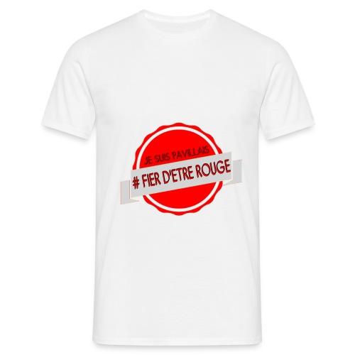T SHIRT HOMME - JE SUIS PAVILLAIS - T-shirt Homme