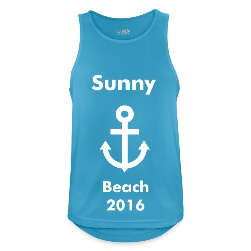 Sunny Beach - 2016 vest - Men's Breathable Tank Top