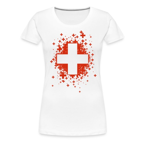 Swiss Stars - T-shirt Premium Femme