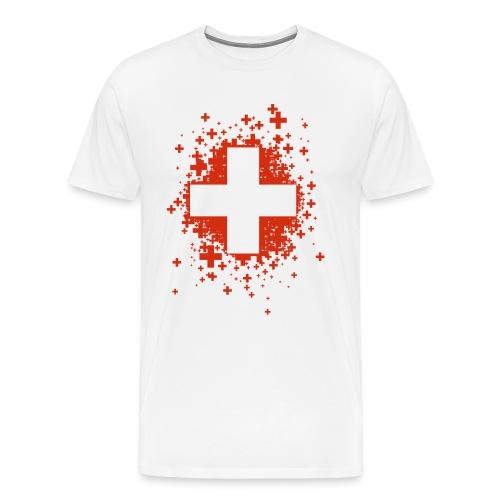 Swiss Stars - T-shirt Premium Homme