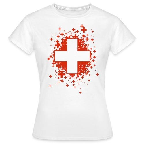 Swiss Stars - T-shirt Femme