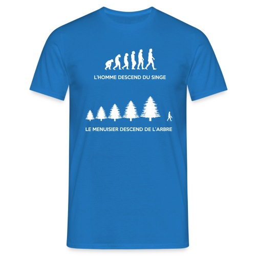 T-shirt Evolution du Menuisier - T-shirt Homme