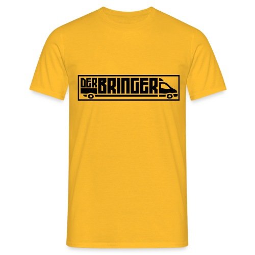 Der Bringer Fan Shirt Black 2 - Männer T-Shirt