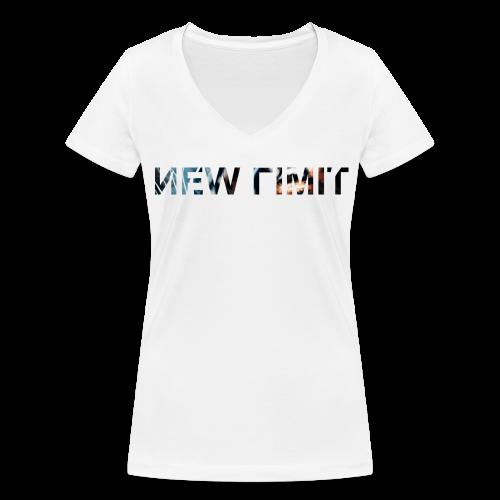 NEW LIMIT TIGER V-NECK TEE GIRL - Frauen Bio-T-Shirt mit V-Ausschnitt von Stanley & Stella