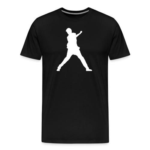 Thomas Hissink Muller White Logo Classic - Men - Mannen Premium T-shirt