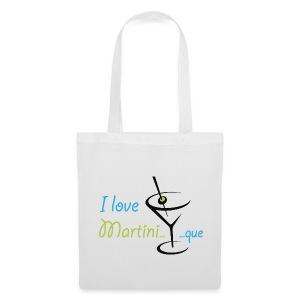 Sac toile I Love Martini...que - Tote Bag