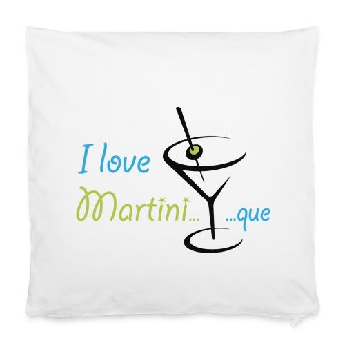 Coussin I Love Martini...que - Housse de coussin 40 x 40 cm