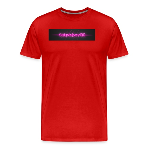 Satnavboy100 Shirt - Men's Premium T-Shirt