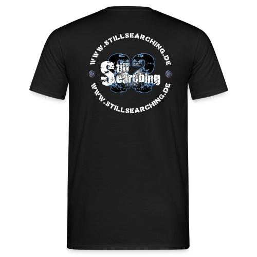 Logo/Web hinten - Männer T-Shirt