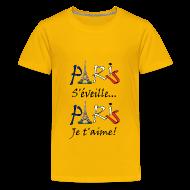 Tee shirts ~ T-shirt Premium Ado ~ Numéro de l'article 106154220