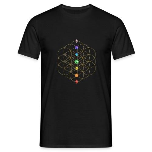 Heilige Geometrie - T-Shirt Männer  - Männer T-Shirt