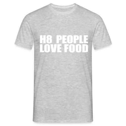 H8 Love - Männer T-Shirt