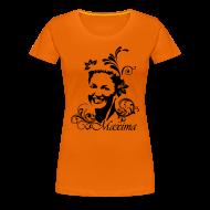 T-shirts ~ Vrouwen Premium T-shirt ~ Girlie dames shirt voor Koningsdag met Maxima opdruk