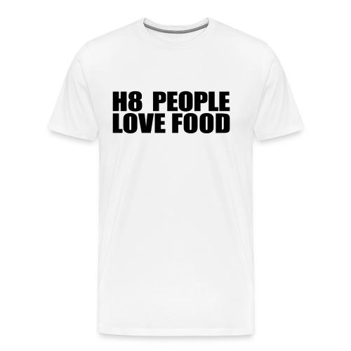 H8 Love - Männer Premium T-Shirt