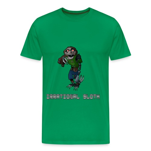 IrrationalSloth Design 1 (Mens T shirt) - Men's Premium T-Shirt