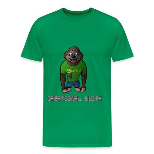 IrrationalSloth Design 2 (Mens T shirt) - Men's Premium T-Shirt