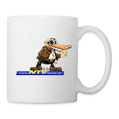 Kaffeebecher - bei uns gibts keinen kalten Kaffee - Tasse