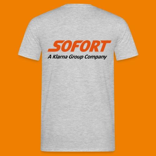 SOFORT Men - Basic Back - Männer T-Shirt