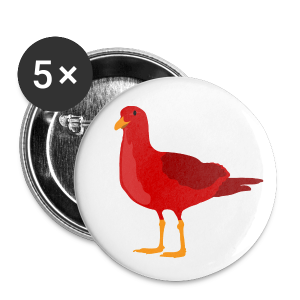 Red Badge Set - Buttons large 56 mm