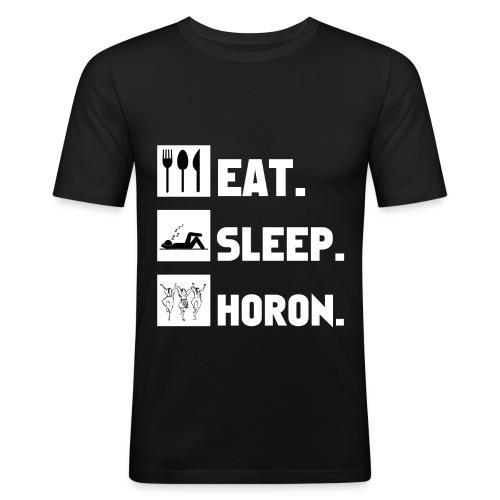 KADIRGA - Herren T-Shirt - Männer Slim Fit T-Shirt
